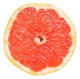Red Grapefruit Slice Stock Image