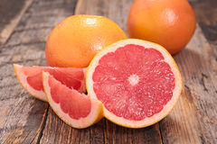Red grapefruit Royalty Free Stock Photos
