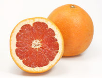 Red grapefruits Stock Photo
