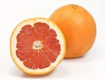 Red grapefruits Stock Photo
