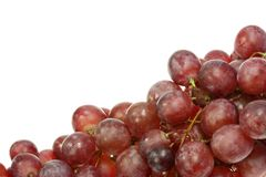 Red grapes. Royalty Free Stock Photo
