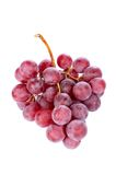 Red grapes bunch Royalty Free Stock Photos