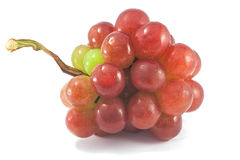 Red grapes. Is diet fruit Royalty Free Stock Images