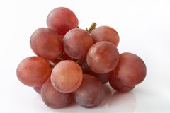 Red Grapes heap Stock Photo