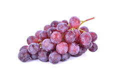 Red grapes isolated on white background Royalty Free Stock Image