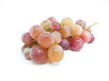 Red grapes. Isolated on white background Stock Image