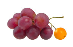 Red grapes symbolizing Royalty Free Stock Photo