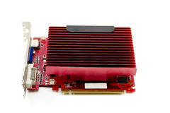Red Graphic Card Stock Photography
