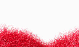 Red grass background Stock Photography