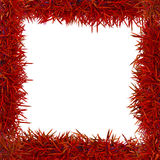 Red grass frame Royalty Free Stock Image