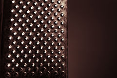 Red grater texture Royalty Free Stock Images
