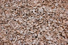 Red gravel background Stock Image