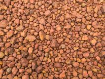 Red Gravel. Road stock photography