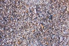 Red gravel stone floor texture background.  stock image
