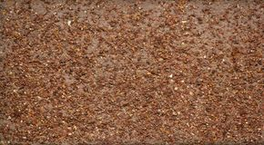 Red Gravel Wall Stock Image