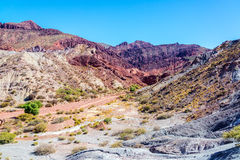 Red and Gray Desert Landscape Royalty Free Stock Photo