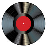 Red gray LP Royalty Free Stock Photo