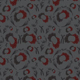 Red-gray seamless pattern Royalty Free Stock Images