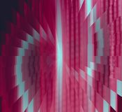 Red and Gray Illusion Abstract Background Stock Photos
