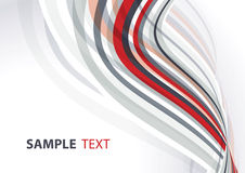 Red and gray template Royalty Free Stock Photography