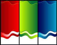 Red, Green And Blue Abstract Backgrounds Royalty Free Stock Photos