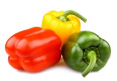 Free Red, Green And Yellow Bell Peppers,  Royalty Free Stock Photos - 30048778