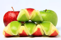 Red & Green Apple Stock Photography