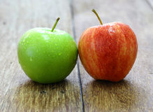 Red and green apple fruit Royalty Free Stock Photography