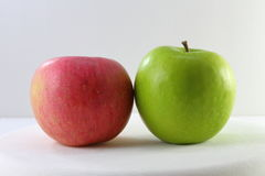 Red Green Apple Royalty Free Stock Photo