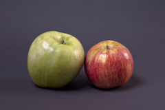 Red and Green Apples Stock Photography