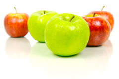 Red & Green Apples Royalty Free Stock Image