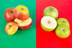 Red and Green Apples - 02 Royalty Free Stock Photography