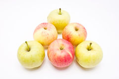 Red and green apples. Royalty Free Stock Image