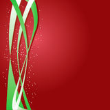 Red & Green Background Royalty Free Stock Photos