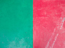 Red and green background Stock Image