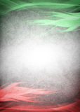 Red and green background ready for your text Royalty Free Stock Photos