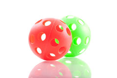 Red and Green Balls Royalty Free Stock Images
