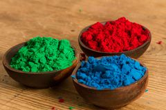 Red, Green and Blue: RGB color system Stock Image