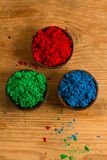 Red, Green and Blue: RGB color system Royalty Free Stock Images