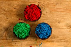 Red, Green and Blue: RGB color system Royalty Free Stock Photo