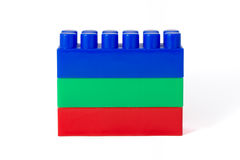 Free Red-green-blue Tower Of Children S Designer Cubes Stock Images - 74136674