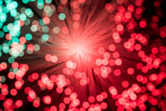 Red and Green Bokeh Royalty Free Stock Photos