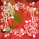 Red green border Royalty Free Stock Images