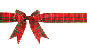Red and green bow Royalty Free Stock Photos
