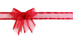 Red and green bow Stock Photography