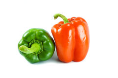Red green chili Royalty Free Stock Image
