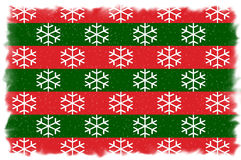 Red and Green Christmas Background Royalty Free Stock Images