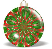 Red Green Christmas Ornament Royalty Free Stock Photos