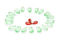 Red, green jewellery Stock Image