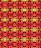 Red and Green Macaroons Abstract Pattern Royalty Free Stock Photo